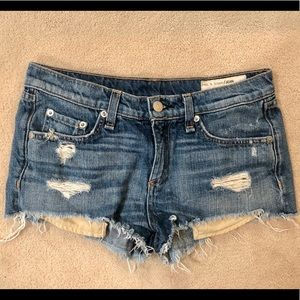 rag & bone Denim Shorts size 25